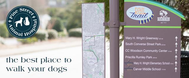 Spartanburg's Best Dog Walking Trails
